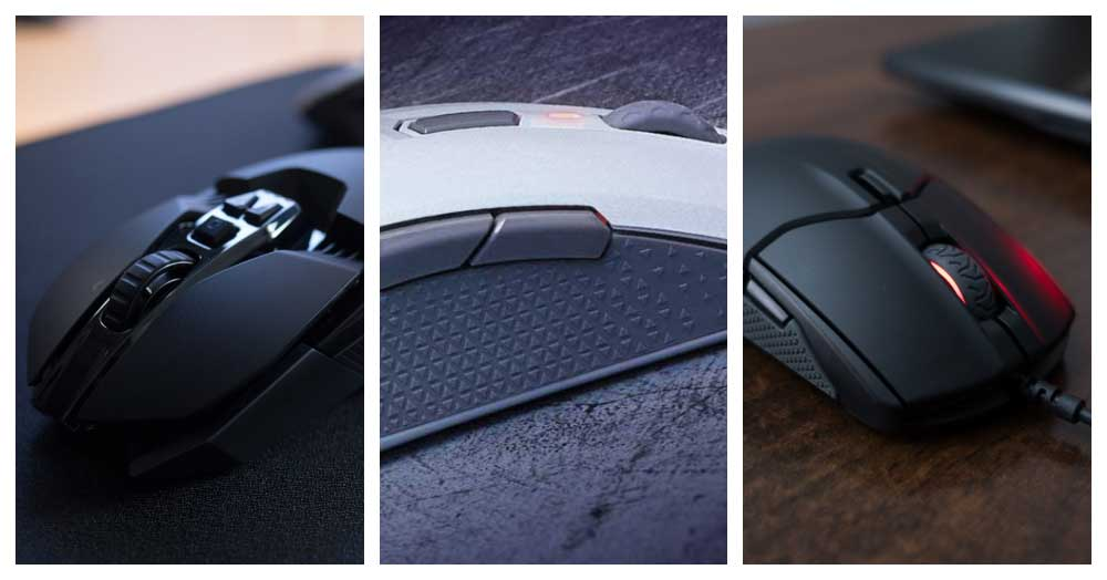 8 Best Left Handed Gaming Mouse Reviews [Update 2020]