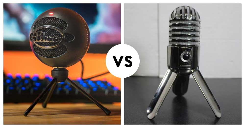 Blue Snowball iCE vs Samson Meteor (2020): Side by Side Comparison!