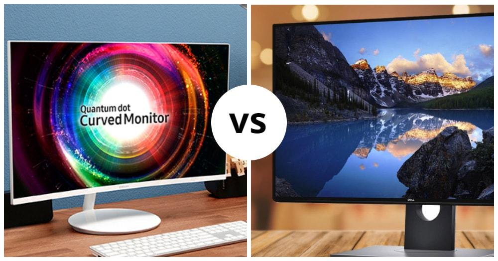 Samsung UH750 vs Dell U2718Q (2020): Side by Side Comparison!