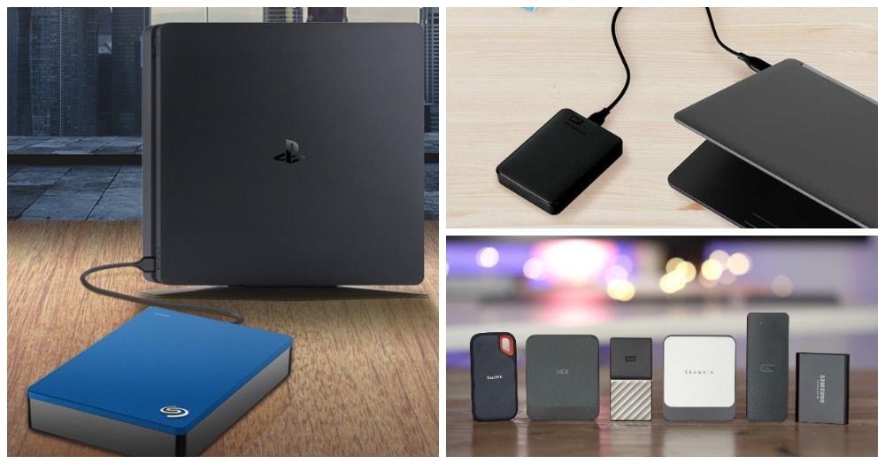 8 Best External SSD for PS4 [Update 2020]